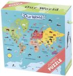 our world puzzle box