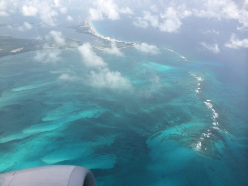 cancun from plane 1